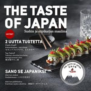 FI_The Taste of Japan Euro Poultry Sushin ja siipikarjan maailma
