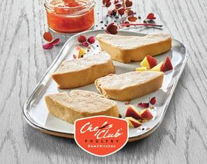 Foie gras 2 Chefs club chicken Euro Poultry