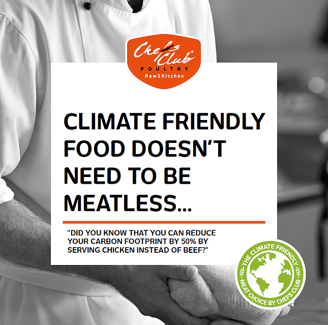 GB Chefs Club Climate friendly meat choice