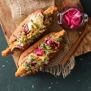 Gourmet HotDog_crunchy chicken style