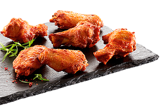 Grillede BBQ wings