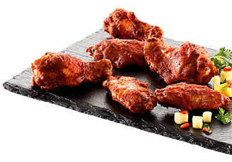 Grillede Smoky BBQ wings