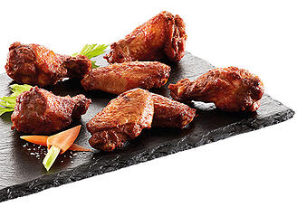 Grillede hot wings