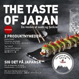 The Taste of Japan Euro Poultry Sushi med fjerkræ