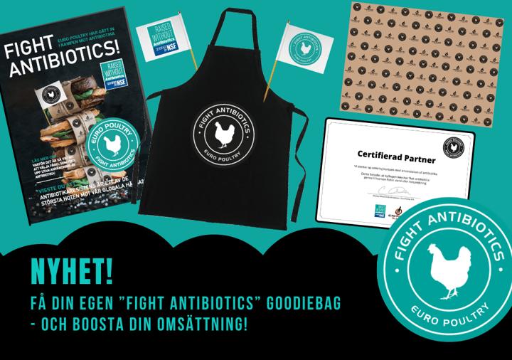 Vill du delta i den globala kampen mot antibiotika - Få GRATIS försäljningsmaterial