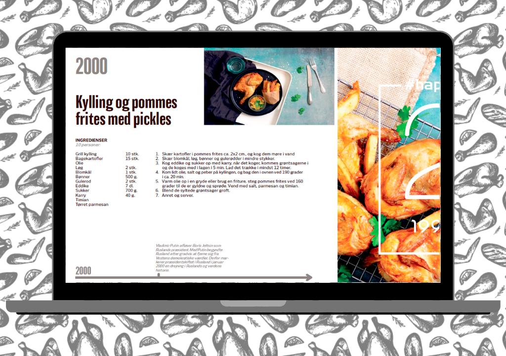 20 års jubilæum: Få e-bog med de 20 bedste opskrifter med fjerkræ fra 1999-2019!