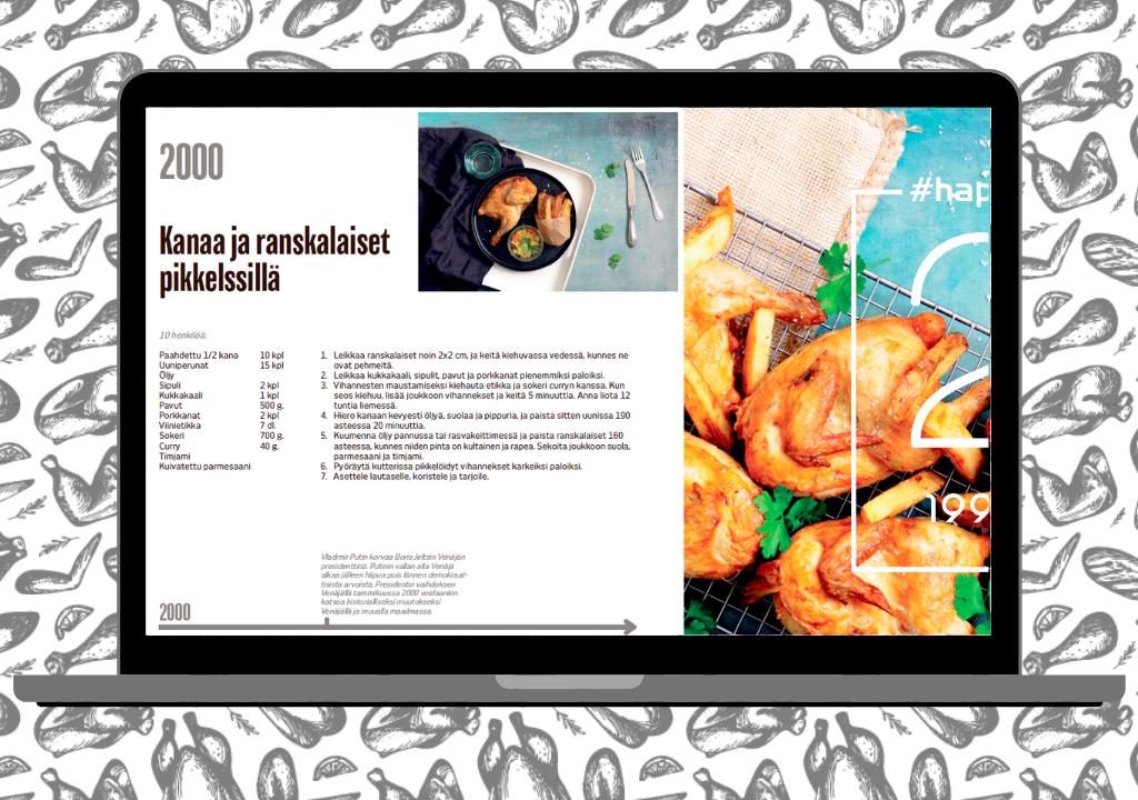 Euro Poultry saavuttaa virstanpylvään - täytämme 20 vuotta! Olemme keränneet sinulle ja ammattikeittiöllesi 20 suosituinta reseptiä vuosien varrelta.