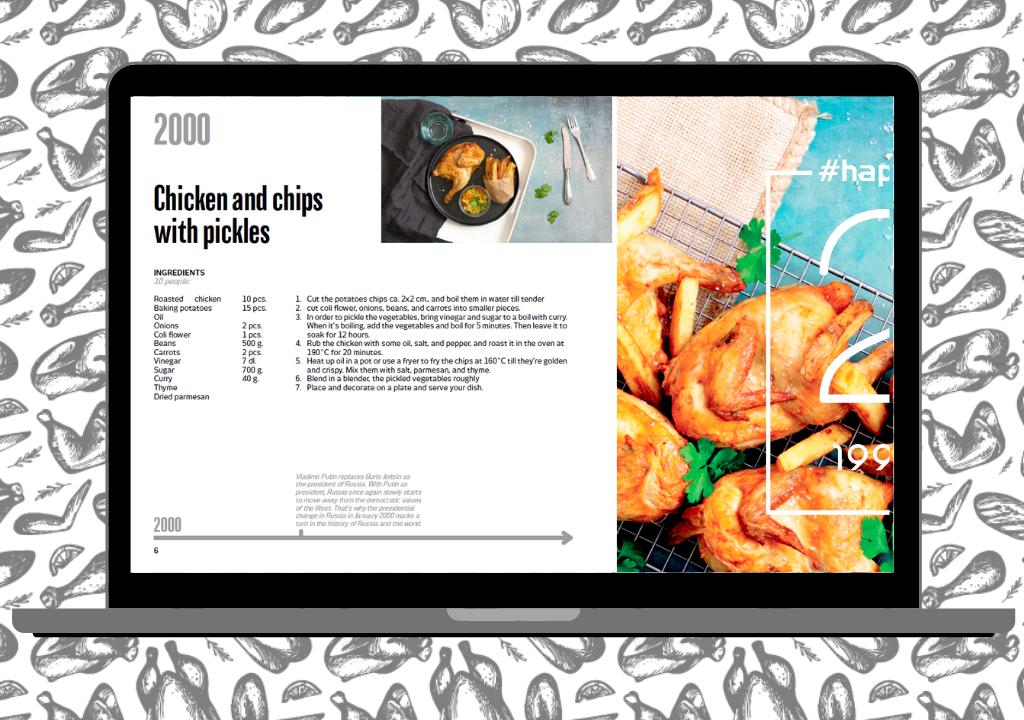 GB Euro Poultry e-bog 20 opskrifter med fjerkræ jubilæum 1999-2019 22-1