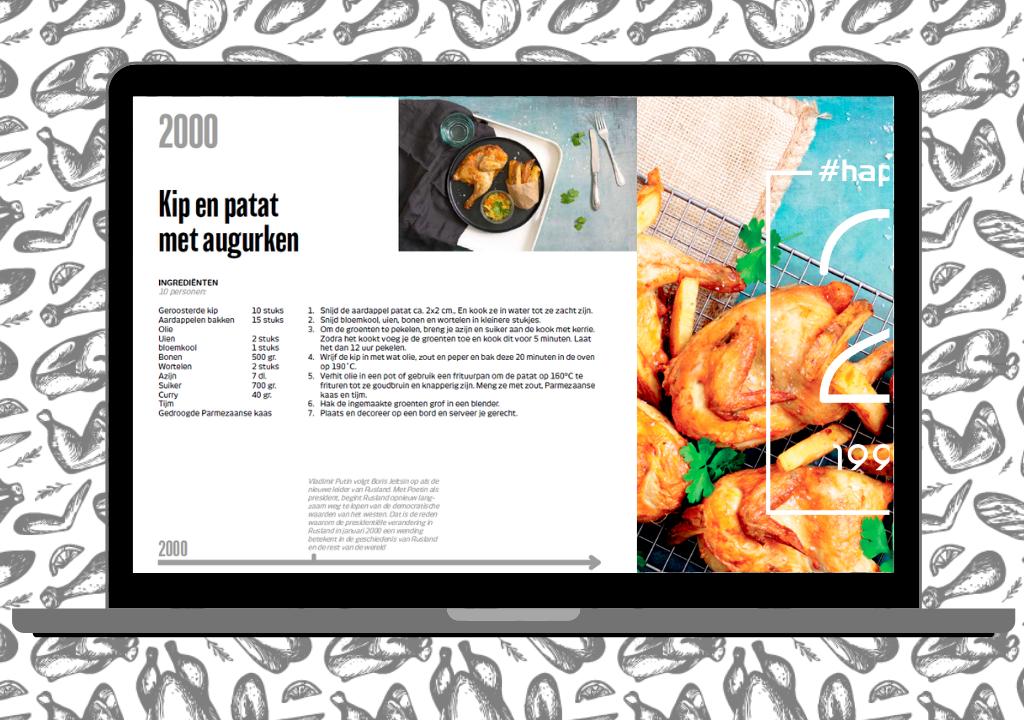 NL Euro Poultry e-bog 20 opskrifter med fjerkræ jubilæum 1999-2019 22-1