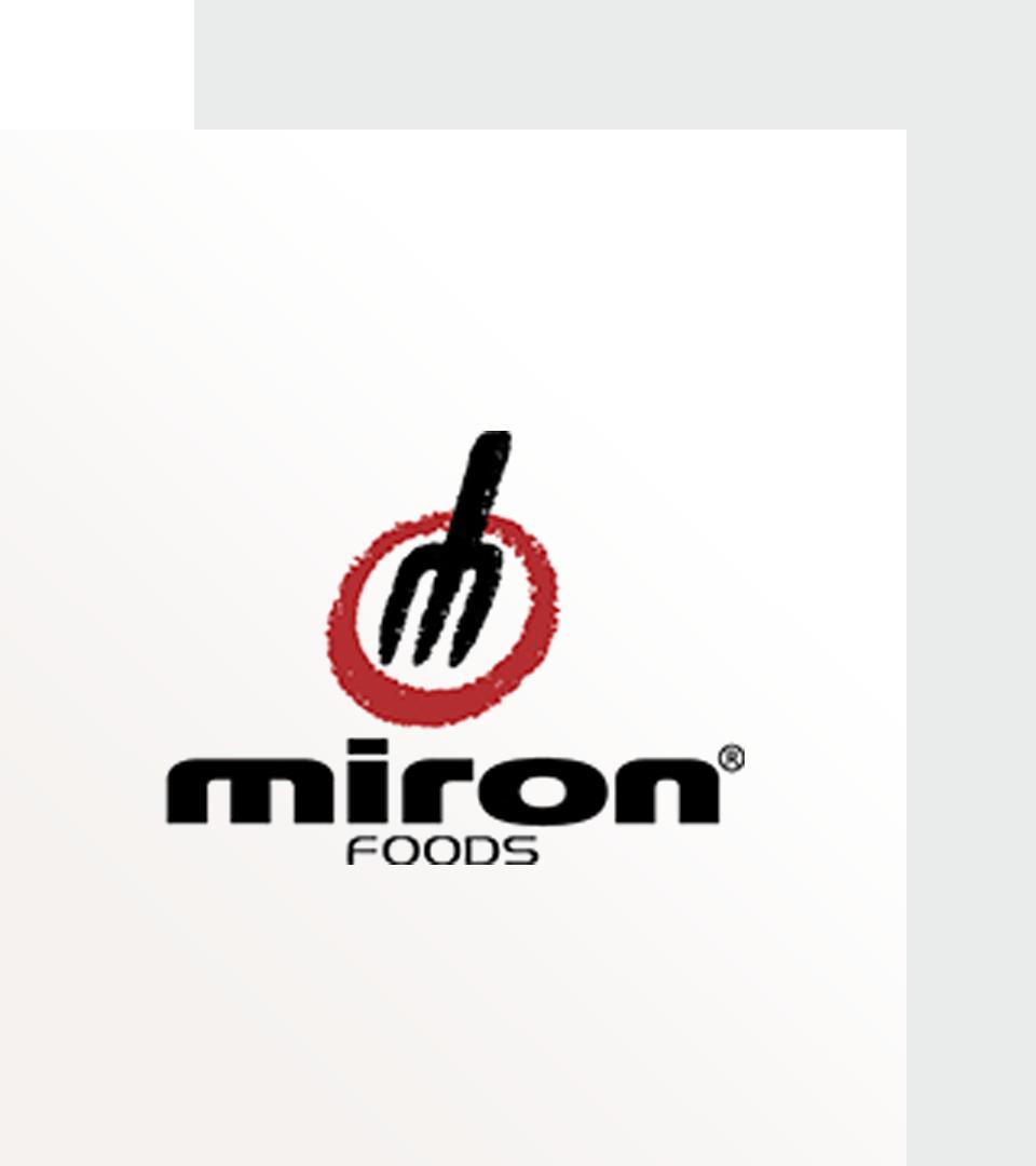 Miron Foods logo